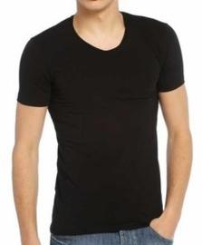Bonanza T-shirt - V-hals - Zwart