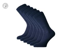 6 paar SQOTTON Werksokken - Heavy - Marineblauw