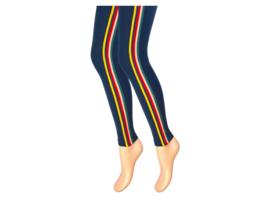 Kinderlegging - Marine - Multicolor streep