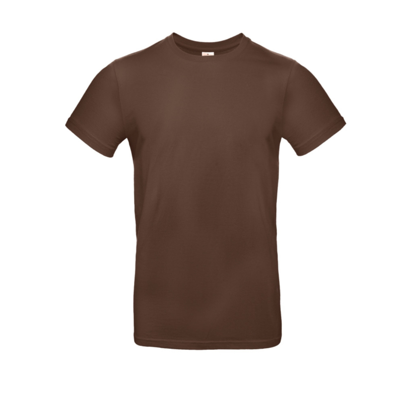B&C Basic T-shirt E190 - Chocolate