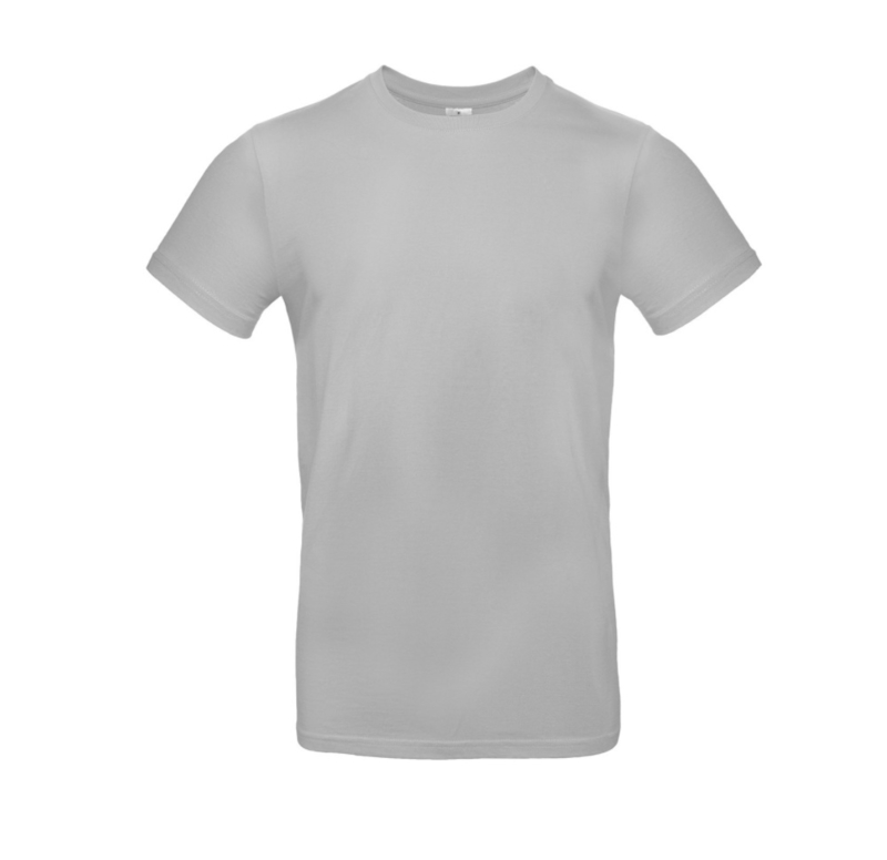 B&C Basic T-shirt E190 - Pacific Grey