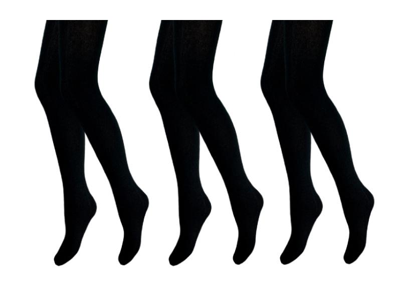 3 stuks - Maillot - Extra Soft - Zwart