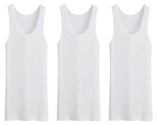 3 stuks Bonanza hemd - Regular - 100% katoen - wit
