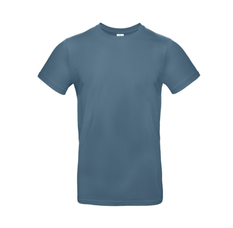 B&C Basic T-shirt E190 - Stone Blue