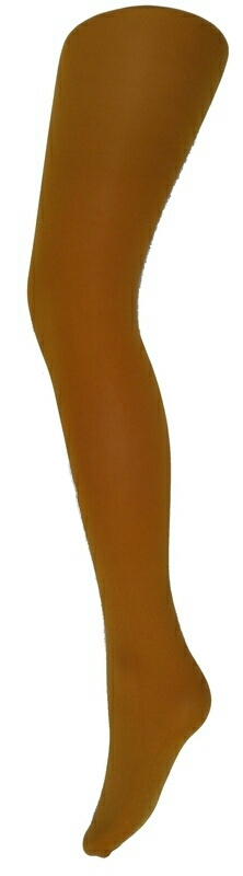 Panty - 60 denier - mosterd