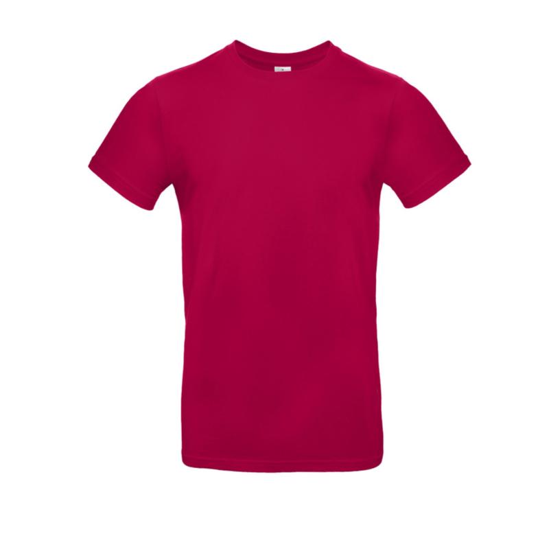 B&C Basic T-shirt E190 - Sorbet