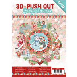 3d pushout Lovely Christmas
