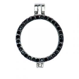 Frame strass zwart