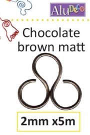 Chocolate mat bruin