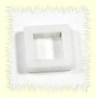 vierkante hanger wit