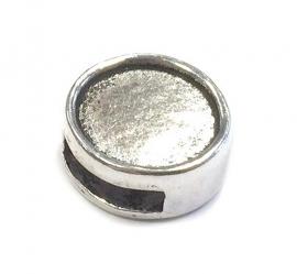 Cambochon zilver kleurige slider