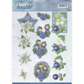 Frosty Ornaments - Blue Ornaments