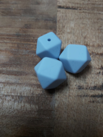 Hexagon licht  blauw