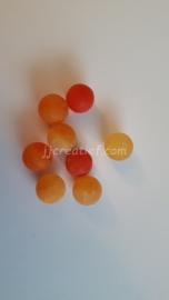 Frost Cracked Geel, oranje