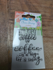 Clear stamp coffee 3