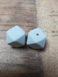 Hexagon licht grijs