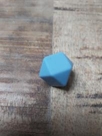 Hexagon grijs  blauw