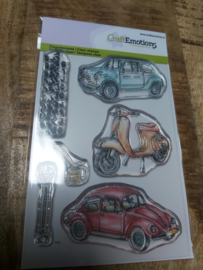 Clear stamp cars