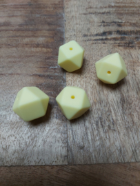 Hexagon  licht geel
