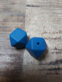 Hexagon donker  blauw
