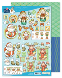 Die cut sheet Winter