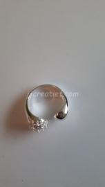 Ring met strass steentjes
