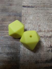 Hexagon  geel