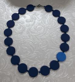 ketting coins blauw