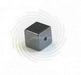 Hematiet dobbelsteen 6x6 mm