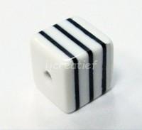 Vierkant wit zwart