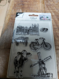 Clear stamp Holland