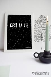 C'est la vie || A4-Poster
