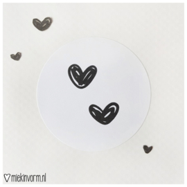 Sticker    Hartjes
