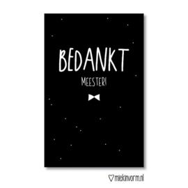 Bedankt meester! || Mini-kaart