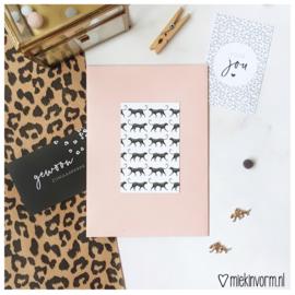 Panter print || Mini-kaart