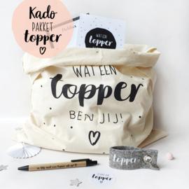 Kado-pakket || Topper