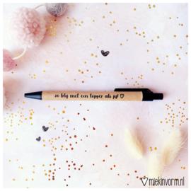 Pen || Zo blij met een topper als jij