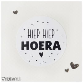 Sticker || Hiep Hiep Hoera