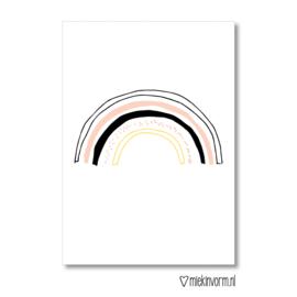Regenboog    Ansichtkaart