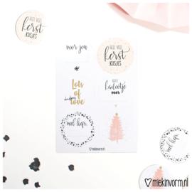 Stickervel || Kerst