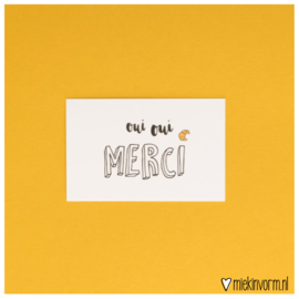 Oui oui merci || Mini-kaart
