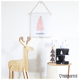Textielposter || Ohhh denneboom