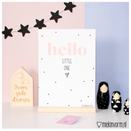 Hello little one || A4 poster