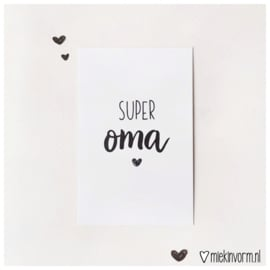 Super oma || Mini-kaart