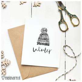 Wintermuts || Ansichtkaart