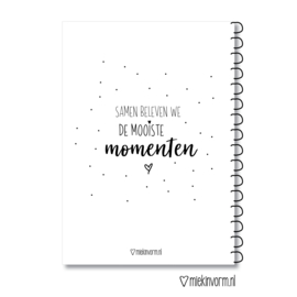 Invulboek || Mooie momenten || A5