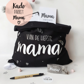 Kado-pakket || Mama tas zwart