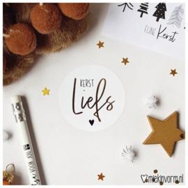 Sticker || Kerst liefs