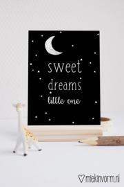 Sweet dreams little one || Ansichtkaart