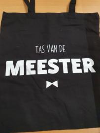 Tas || Tas van de Meester  (beschadiging in print letter M) zie foto